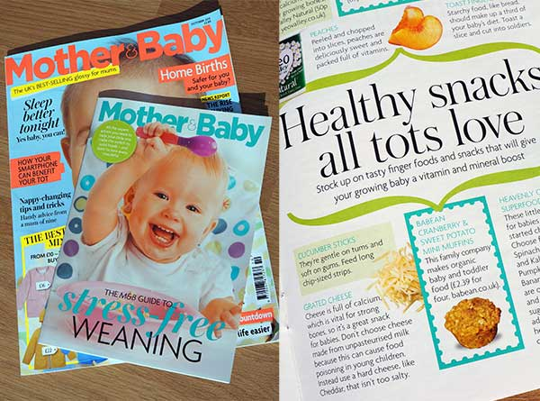 Mother Baby Magazine Weaning Guide