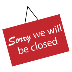 Offices closed from 3rd to 9th August